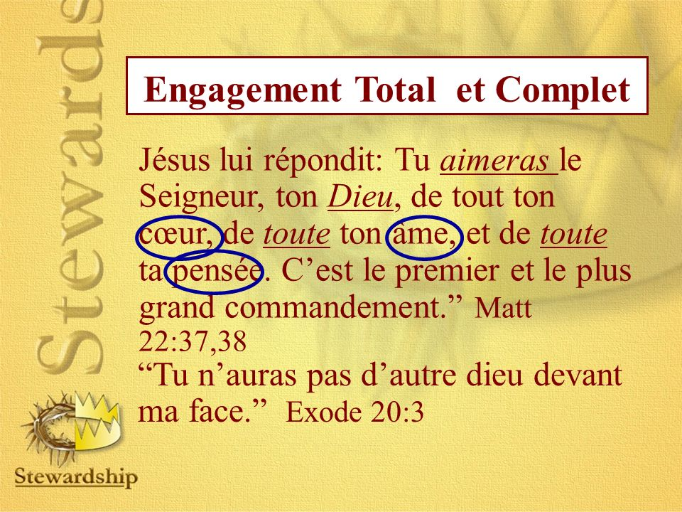 Engagement Total et Complet
