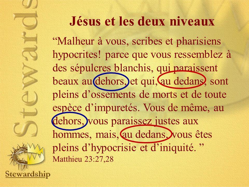 Jésus et les deux niveaux