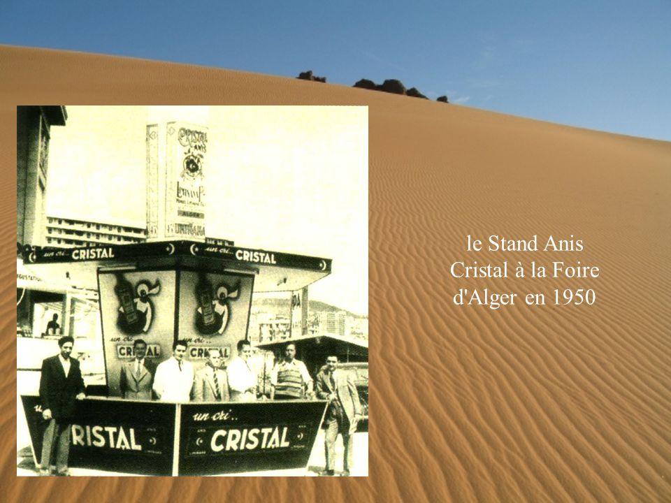 le Stand Anis Cristal à la Foire d Alger en 1950