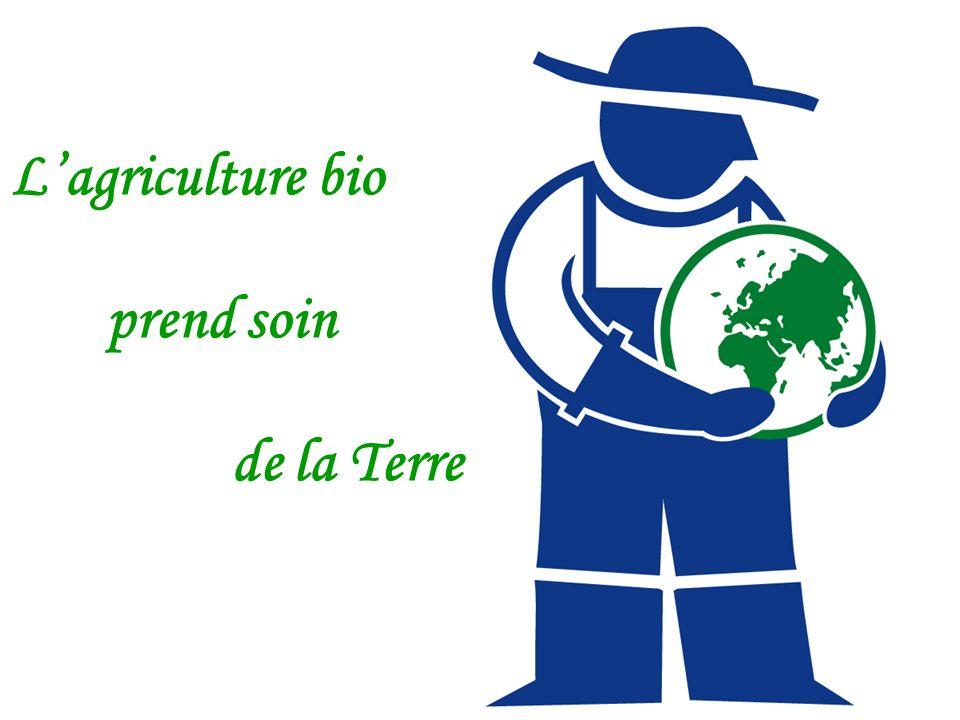 L'agriculture bio prend soin de la Terre