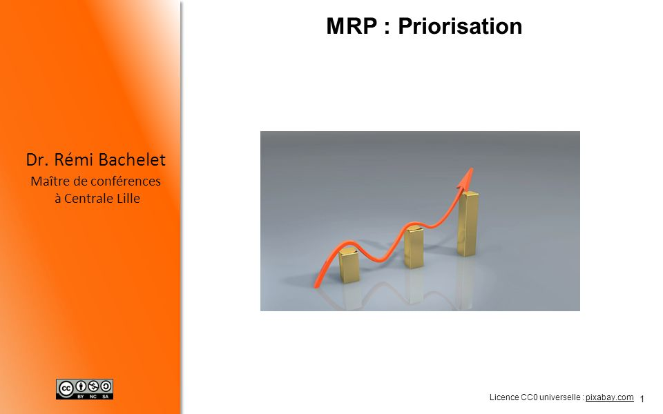 MRP : Priorisation Licence CC0 universelle : pixabay.com