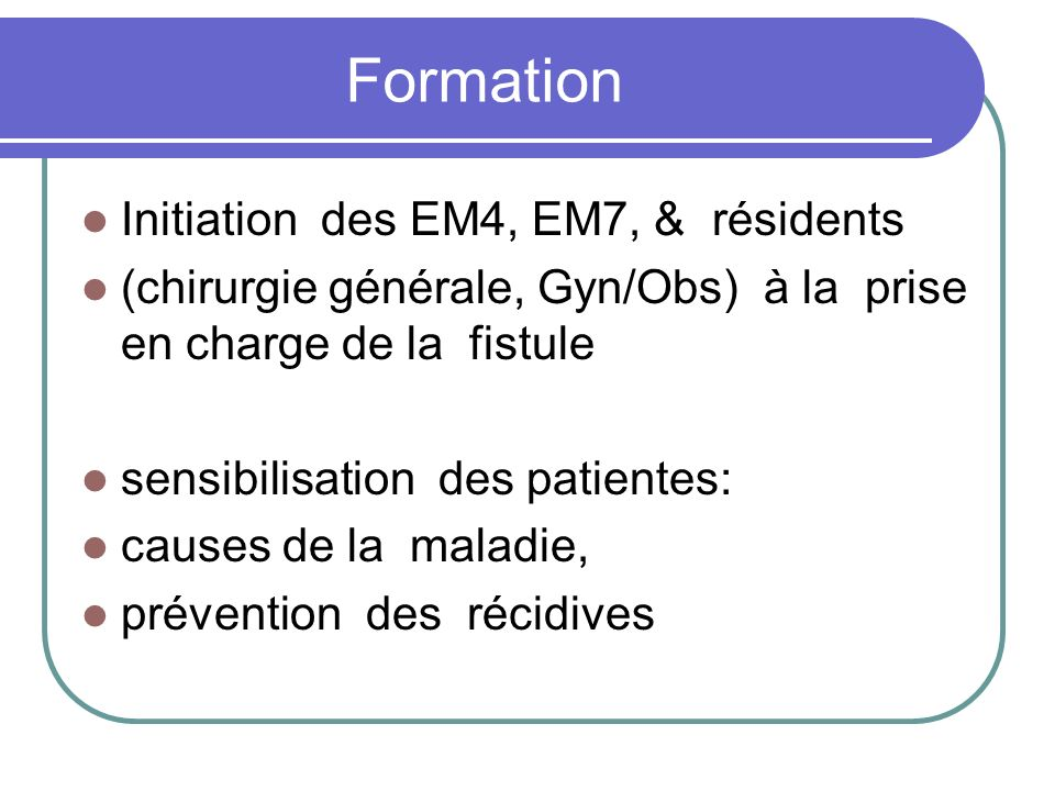 Formation Initiation des EM4, EM7, & résidents