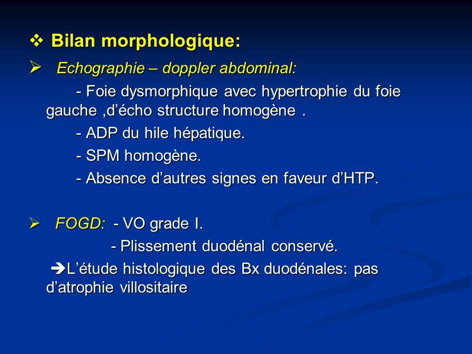 Echographie – doppler abdominal: