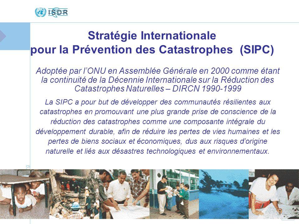 Stratégie Internationale pour la Prévention des Catastrophes (SIPC)
