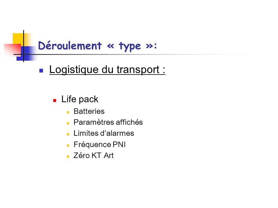 Logistique du transport :