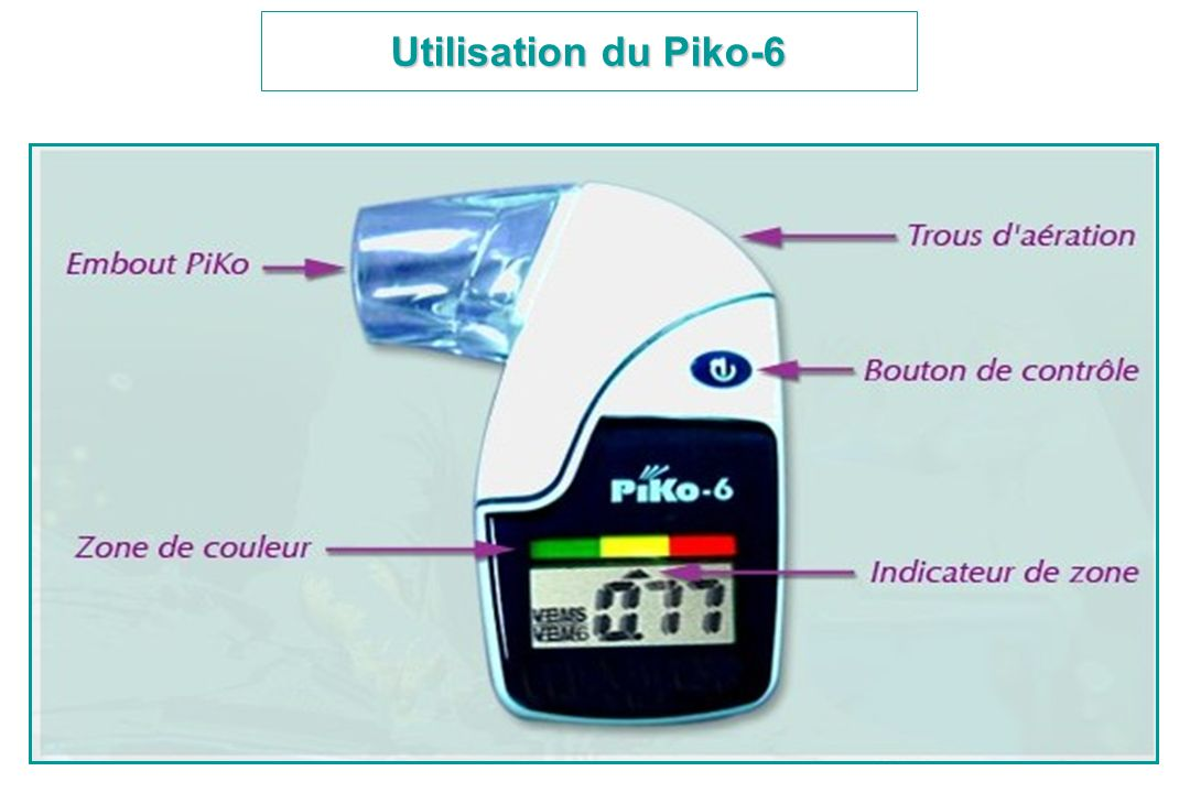 Utilisation du Piko-6