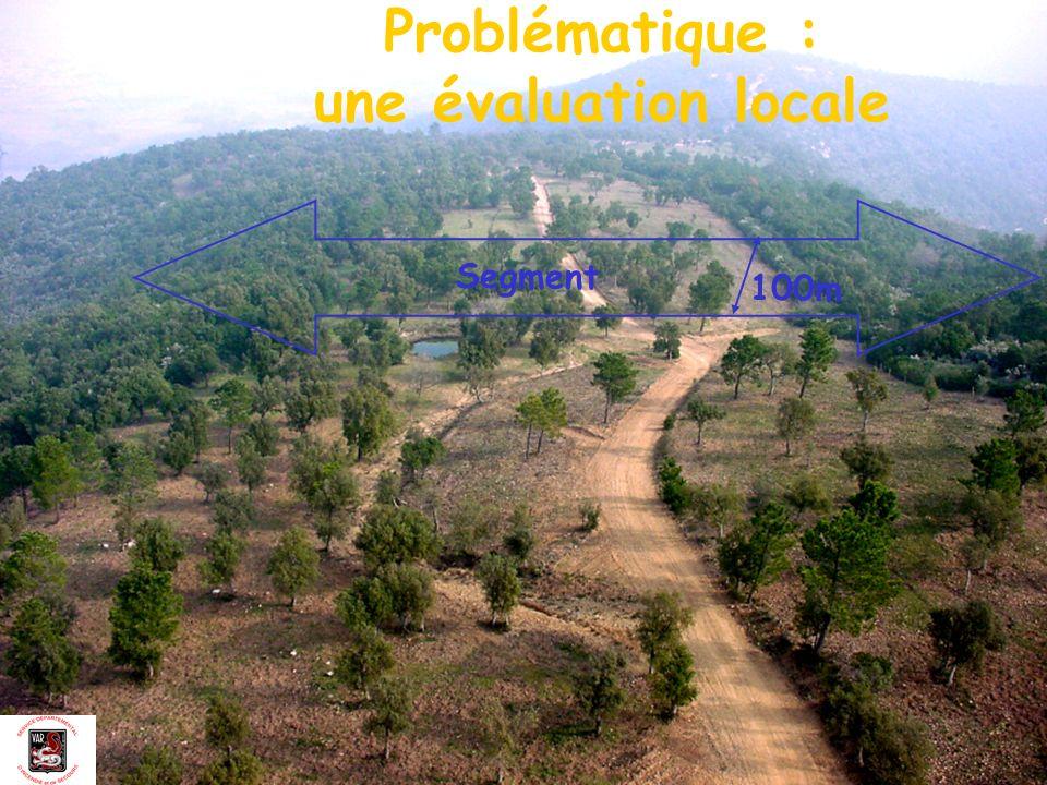 Problématique : une évaluation locale