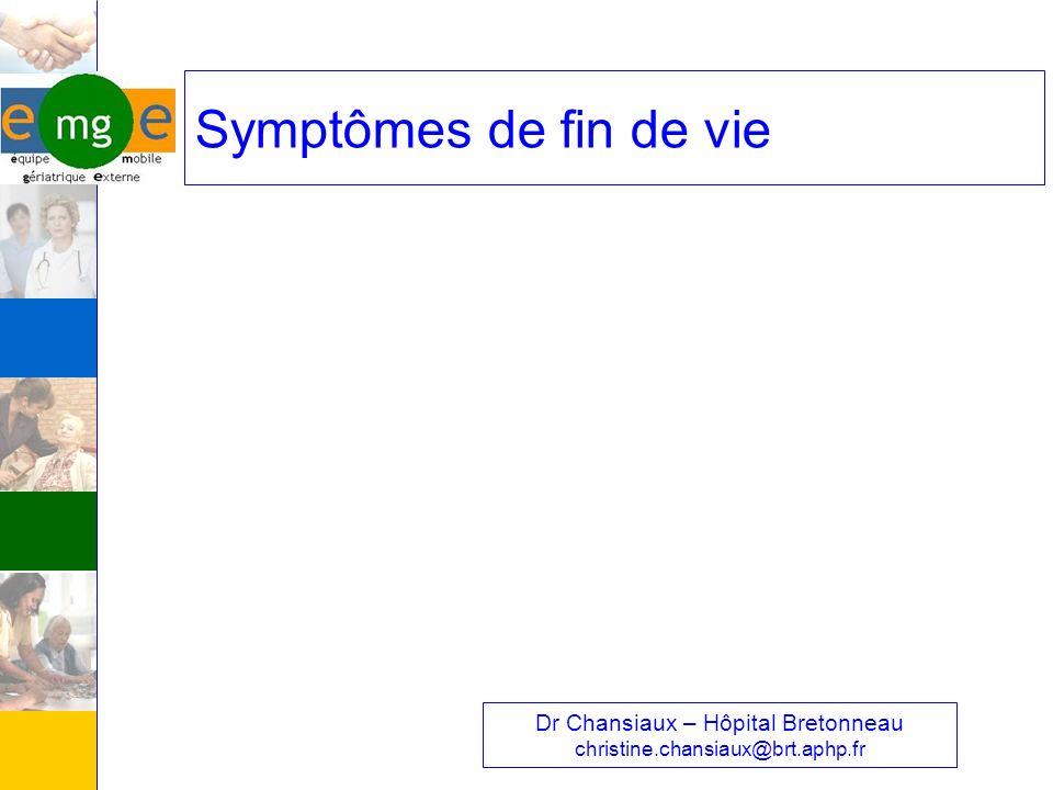 Dr Chansiaux – Hôpital Bretonneau christine.chansiaux@brt.aphp.fr