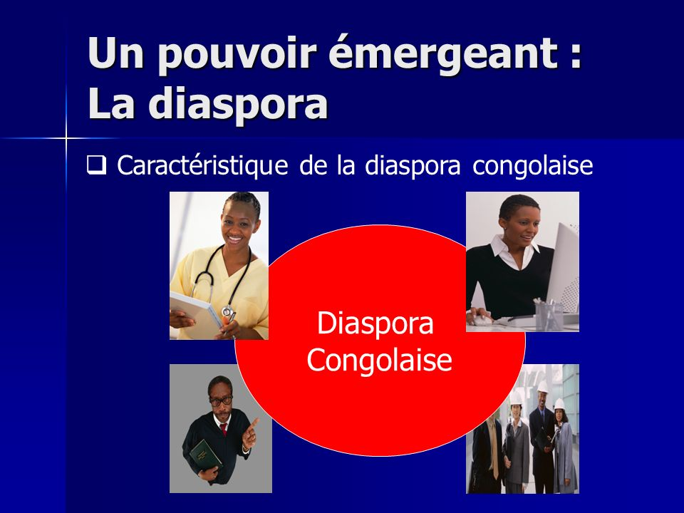 Un pouvoir émergeant : La diaspora