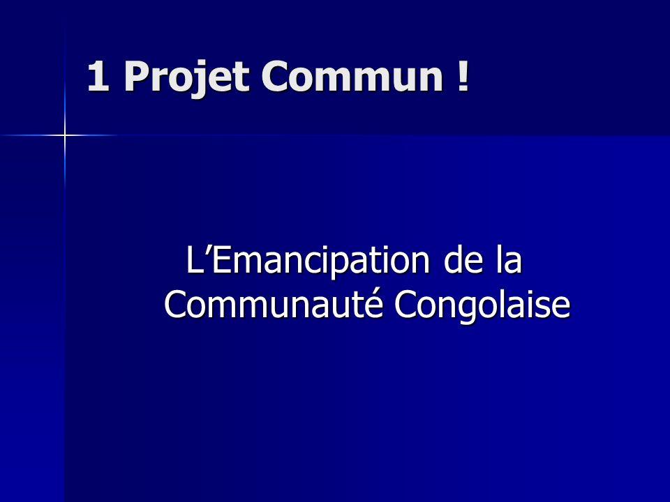 L'Emancipation de la Communauté Congolaise