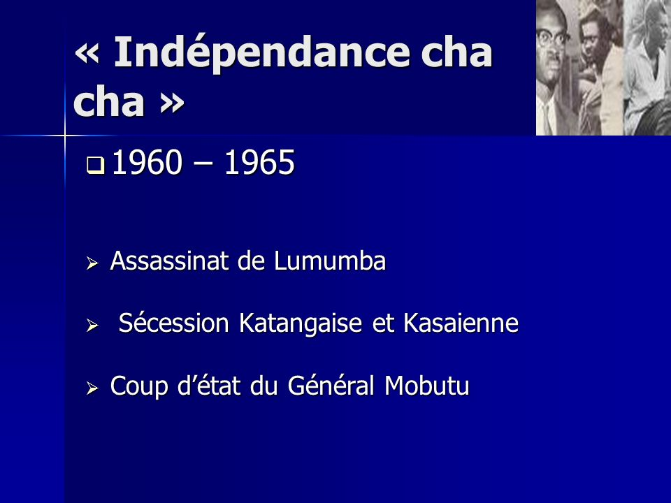 « Indépendance cha cha »