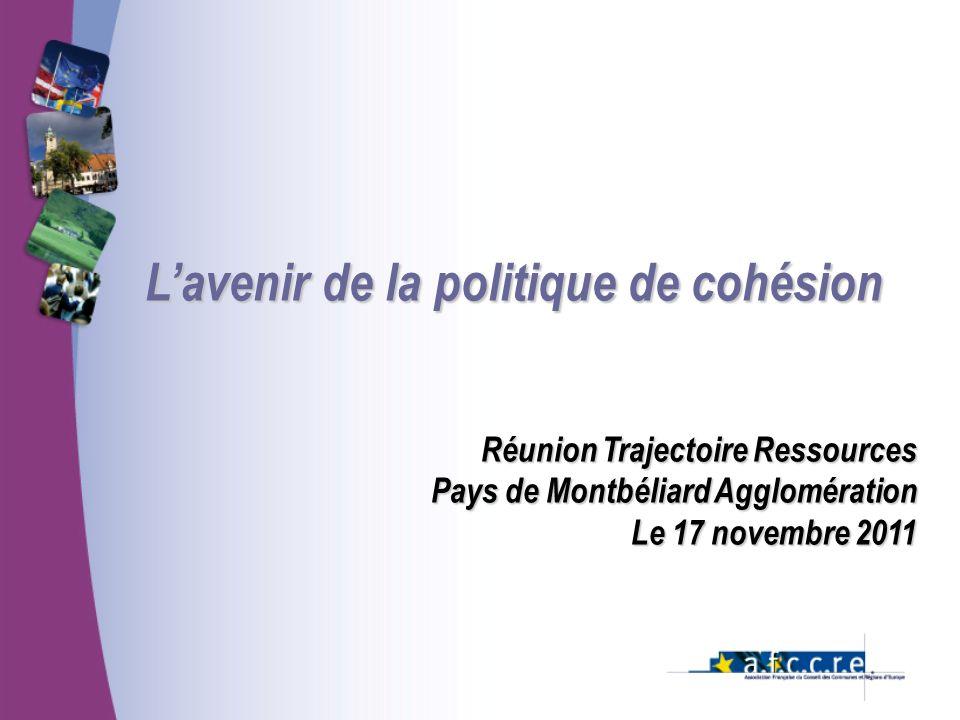L'avenir de la politique de cohésion