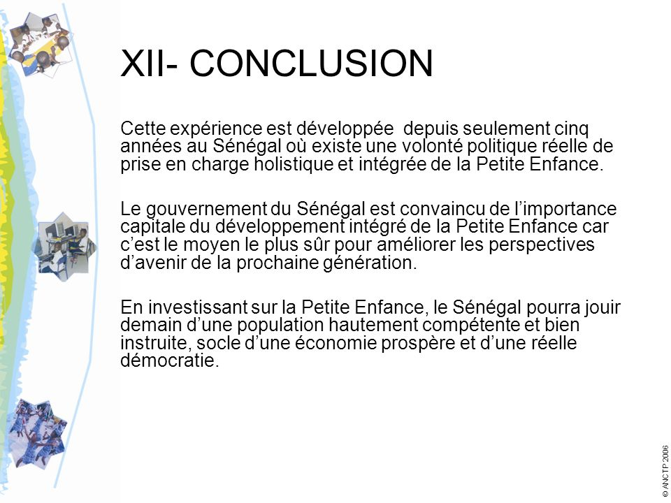 XII- CONCLUSION
