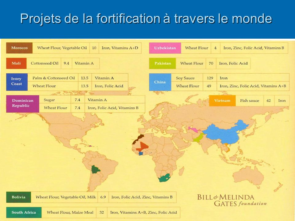 Projets de la fortification à travers le monde