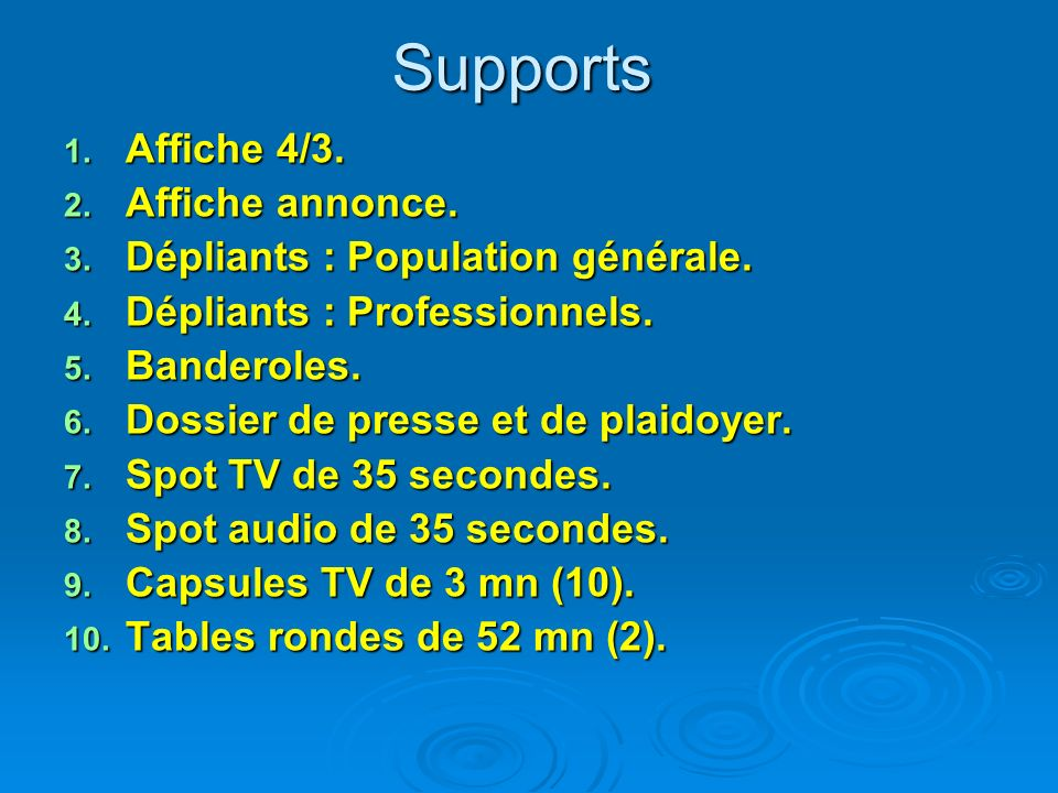 Supports Affiche 4/3. Affiche annonce.
