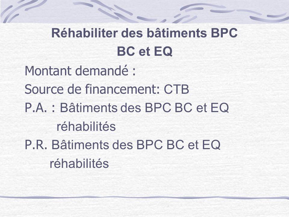 Réhabiliter des bâtiments BPC