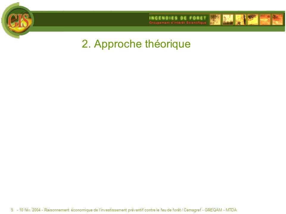 2. Approche théorique - 10 fév. 2004 -