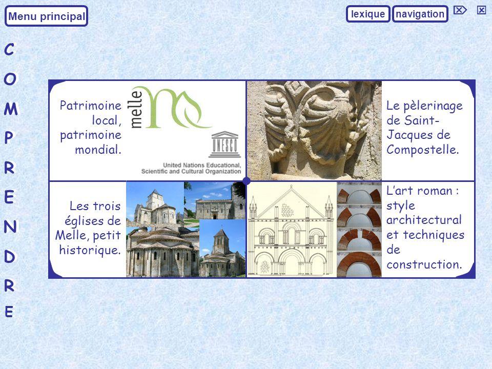 C O M P R E N D   Patrimoine local, patrimoine mondial.