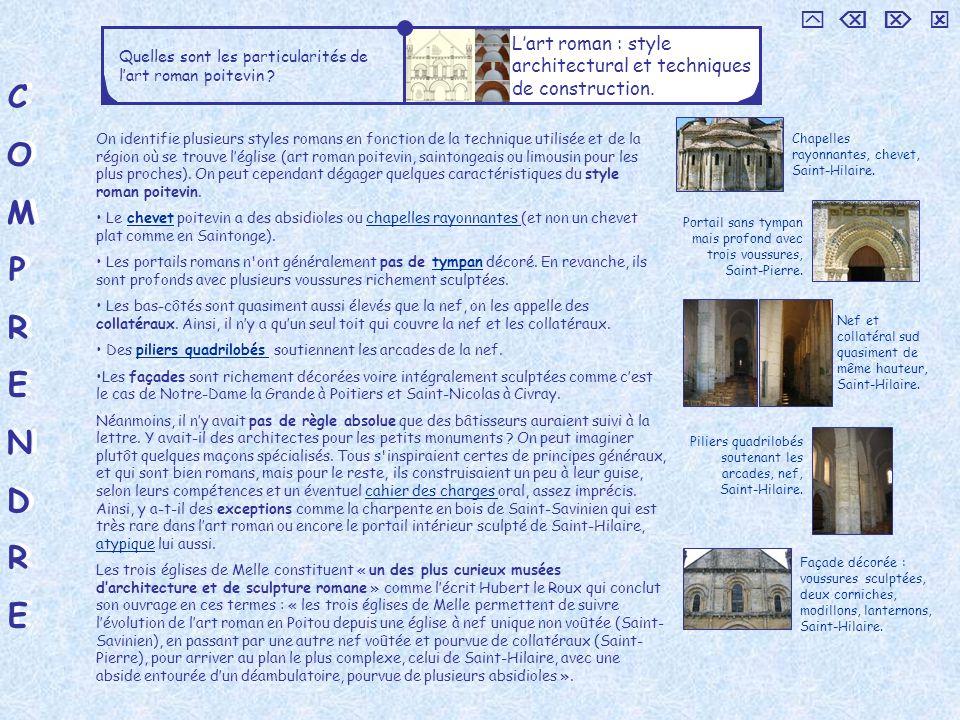     L'art roman : style architectural et techniques de construction. Quelles sont les particularités de l'art roman poitevin