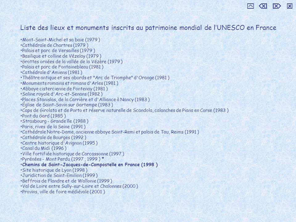     Liste des lieux et monuments inscrits au patrimoine mondial de l'UNESCO en France. Mont-Saint-Michel et sa baie (1979 )