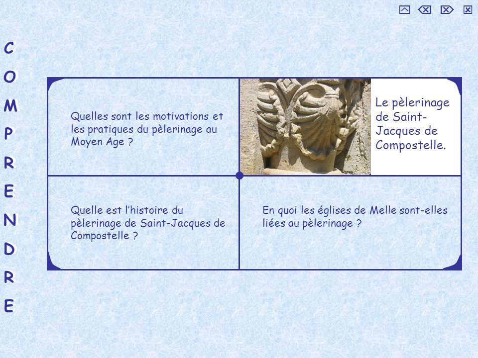 C O M P R E N D     Le pèlerinage de Saint-Jacques de Compostelle.