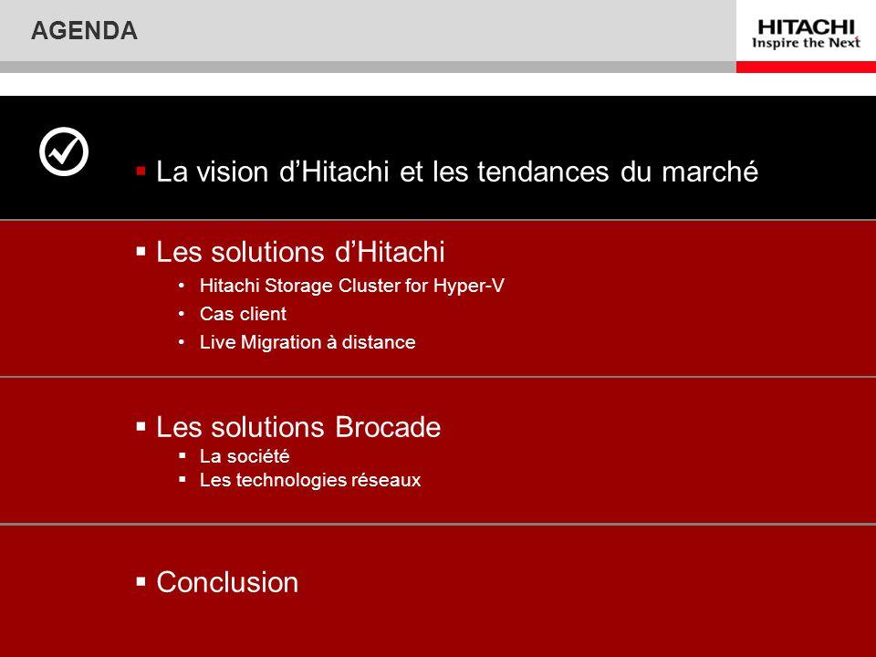 La vision d'Hitachi et les tendances du marché