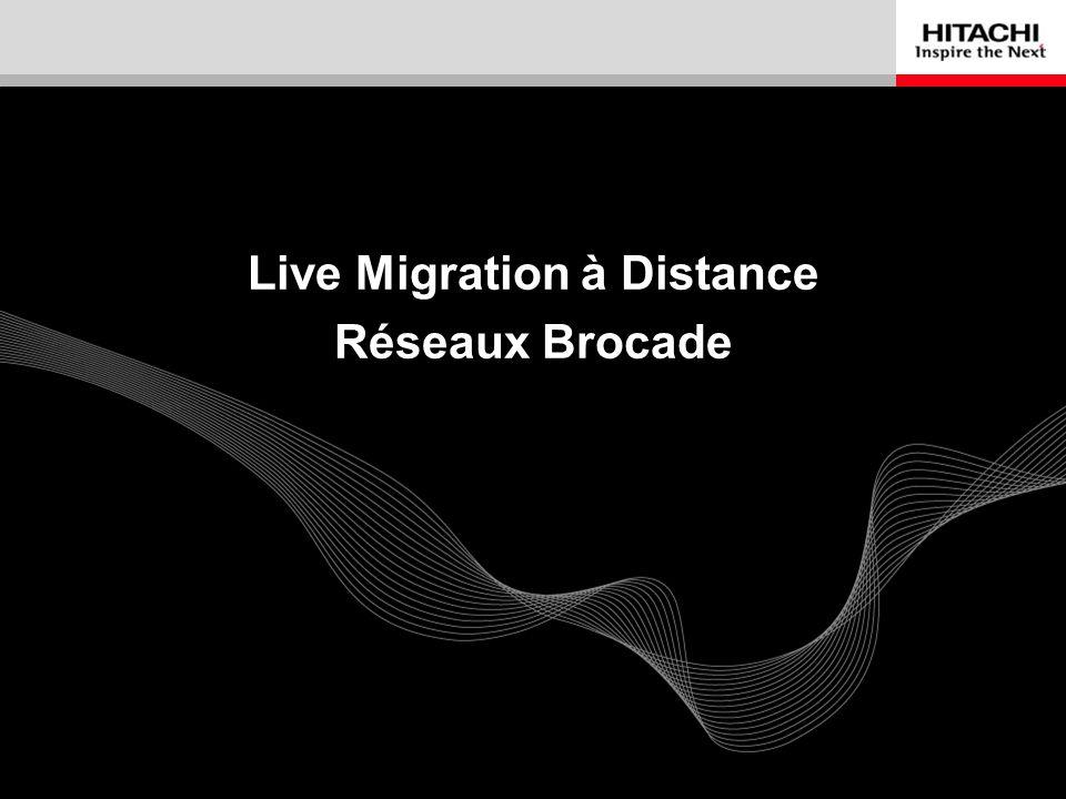Live Migration à Distance