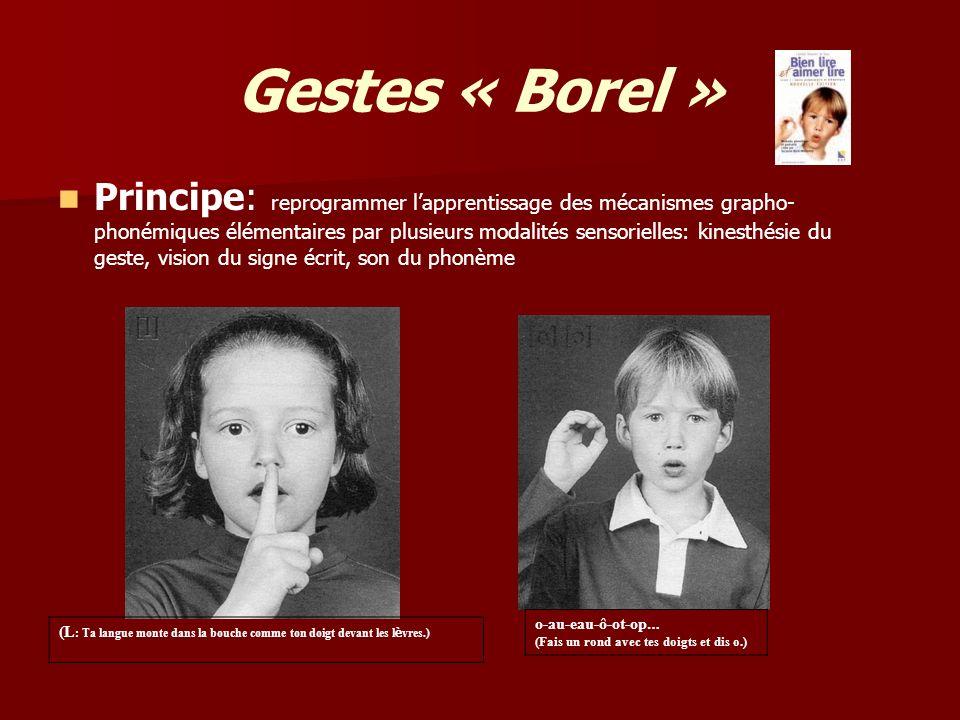 Gestes « Borel »
