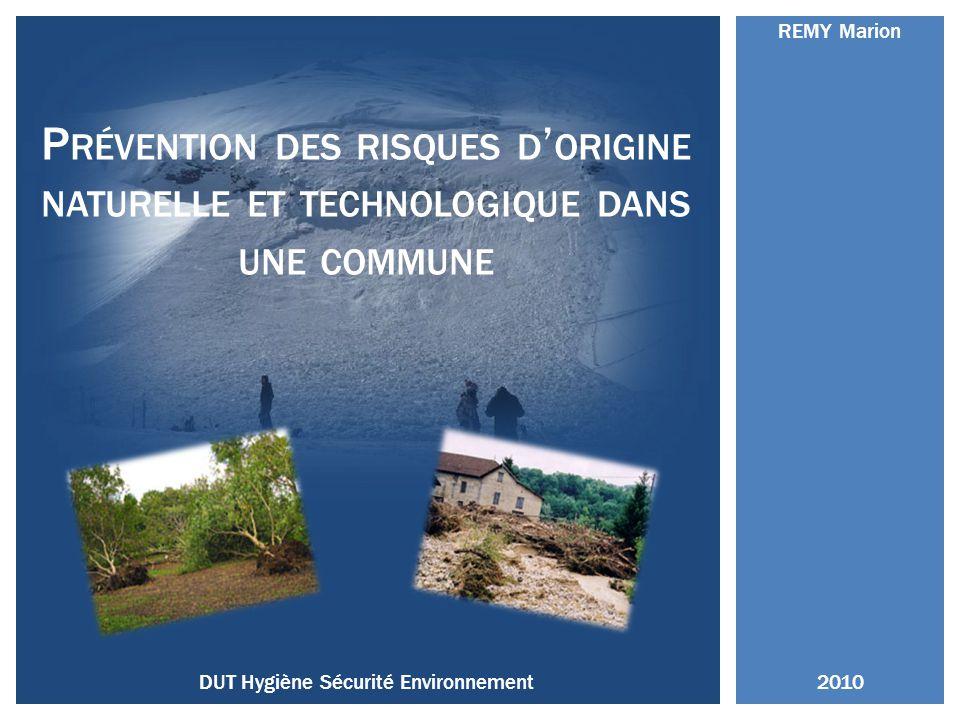 DUT Hygiène Sécurité Environnement