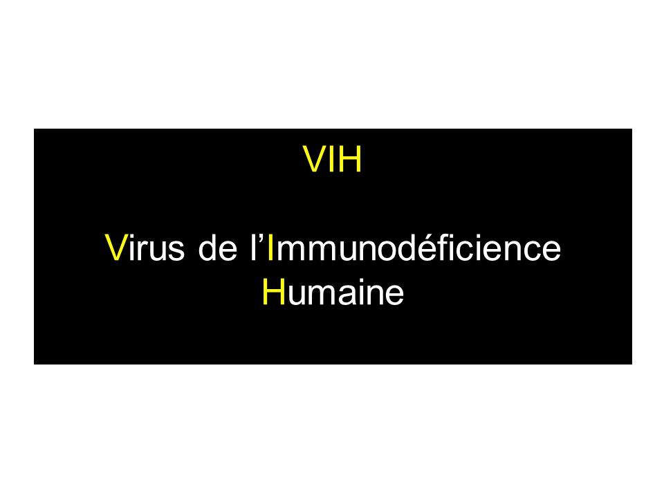 VIH Virus de l'Immunodéficience Humaine