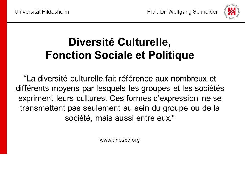 Fonction Sociale et Politique