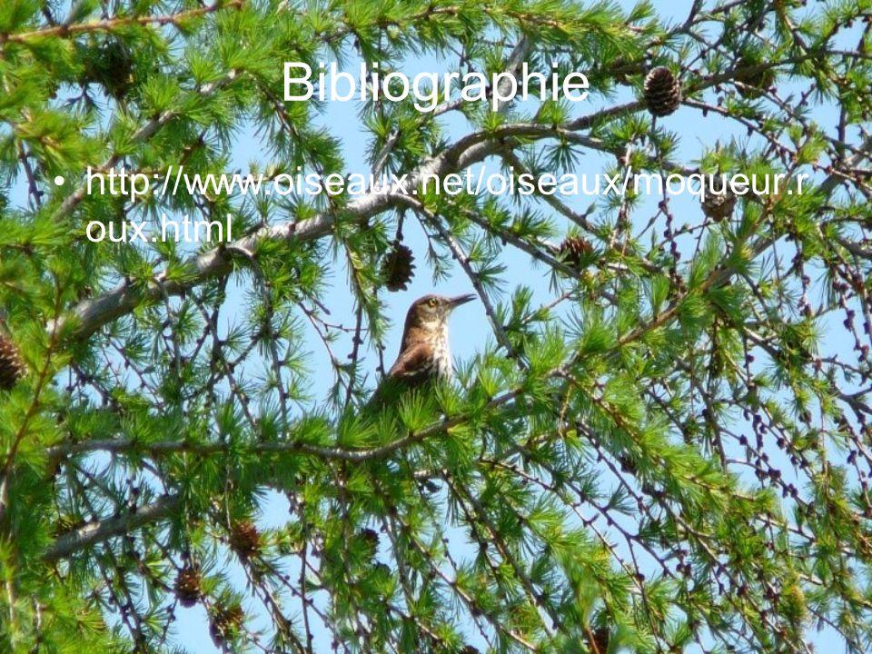 Bibliographie http://www.oiseaux.net/oiseaux/moqueur.roux.html