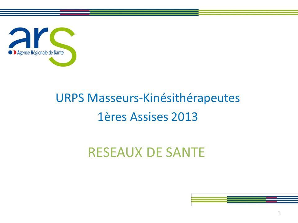 URPS Masseurs-Kinésithérapeutes 1ères Assises 2013