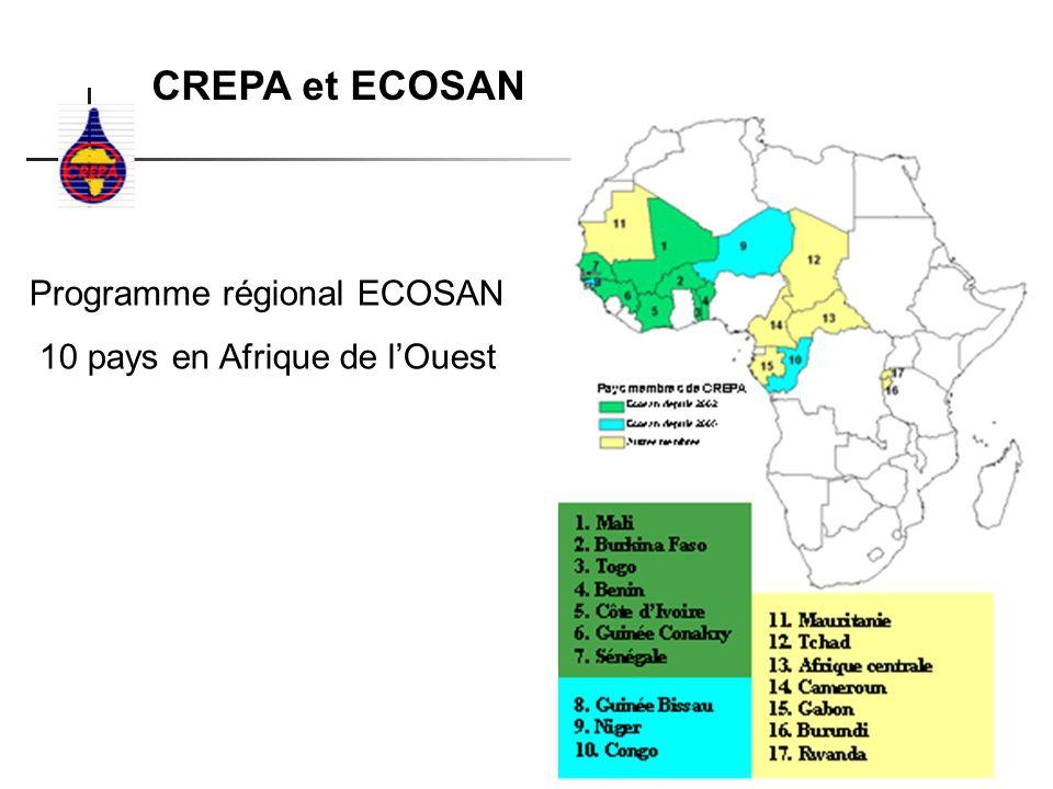 CREPA et ECOSAN Programme régional ECOSAN