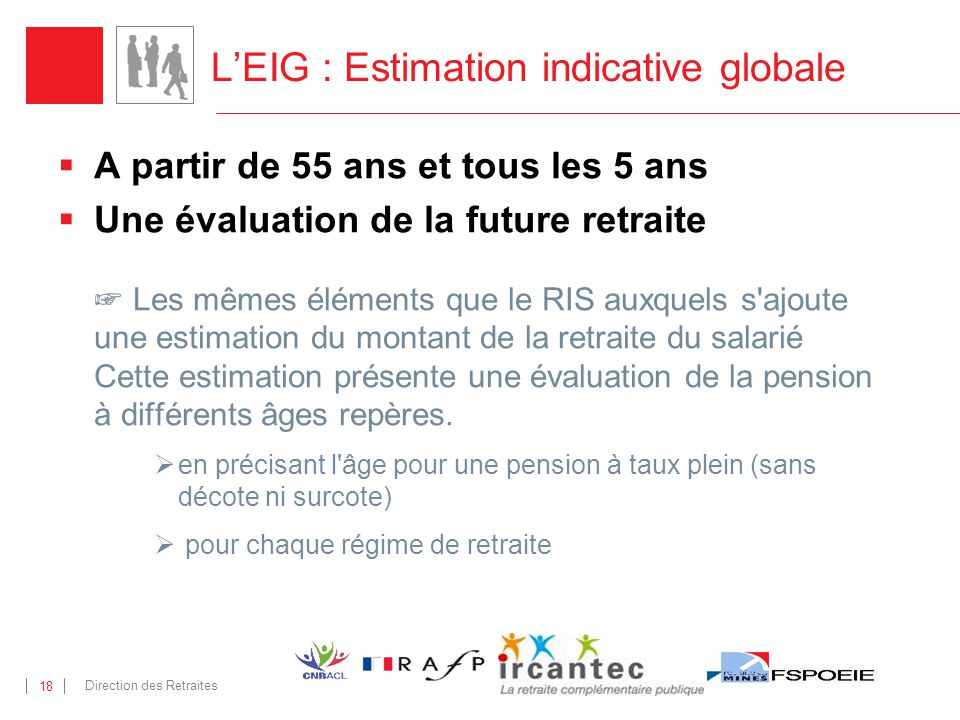 L'EIG : Estimation indicative globale