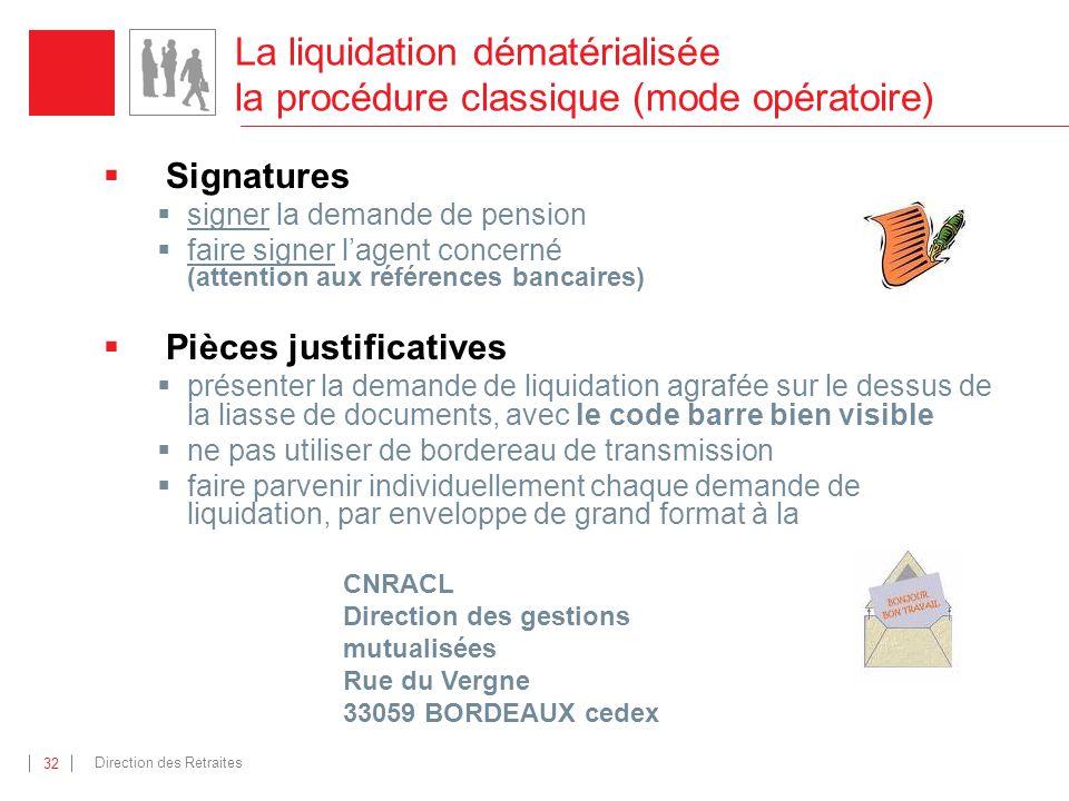 La liquidation dématérialisée la procédure classique (mode opératoire)