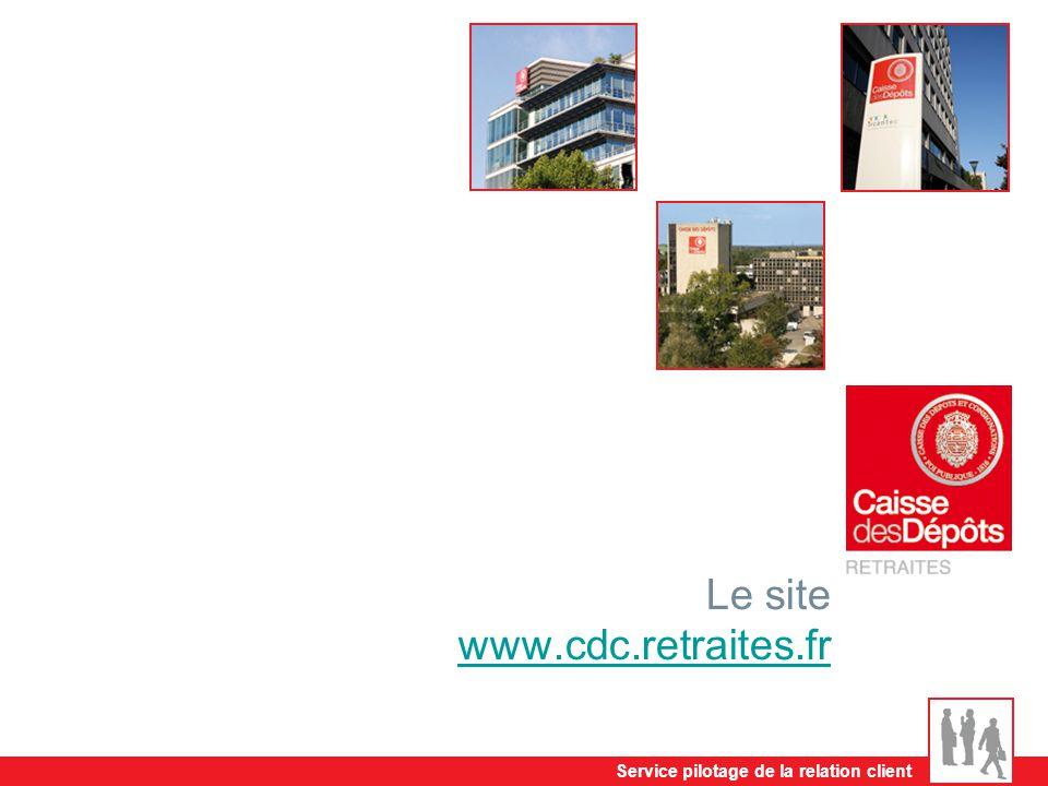 Le site www.cdc.retraites.fr