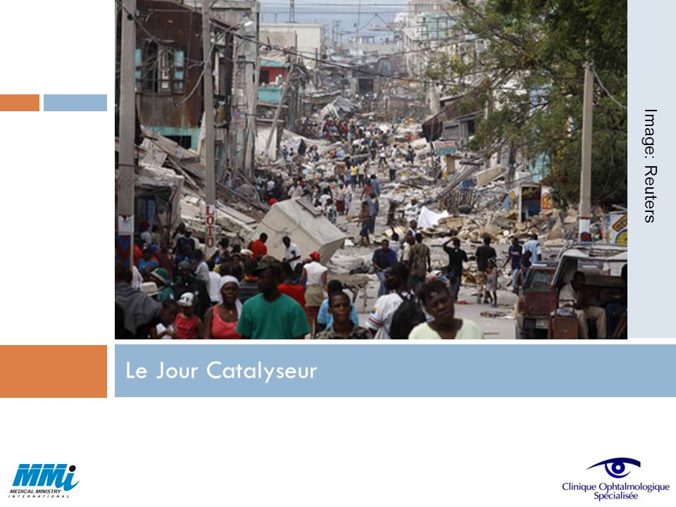 Image: Reuters Le Jour Catalyseur