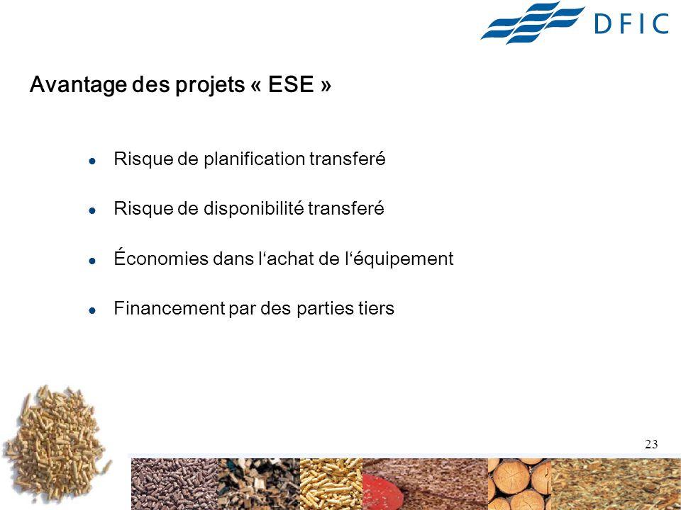 Avantage des projets « ESE »