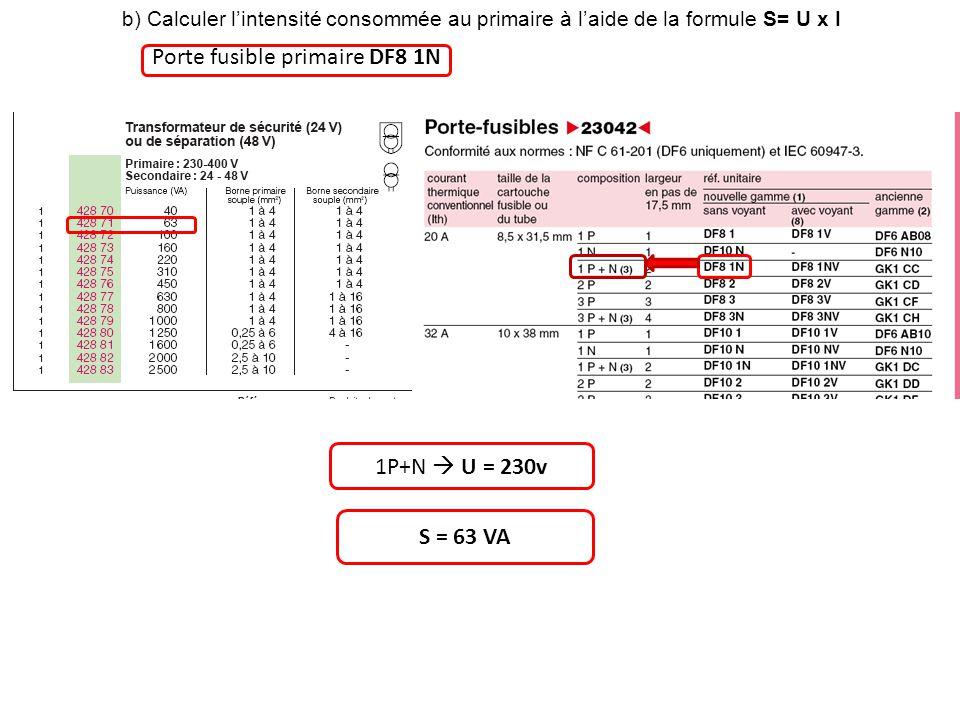 Porte fusible primaire DF8 1N