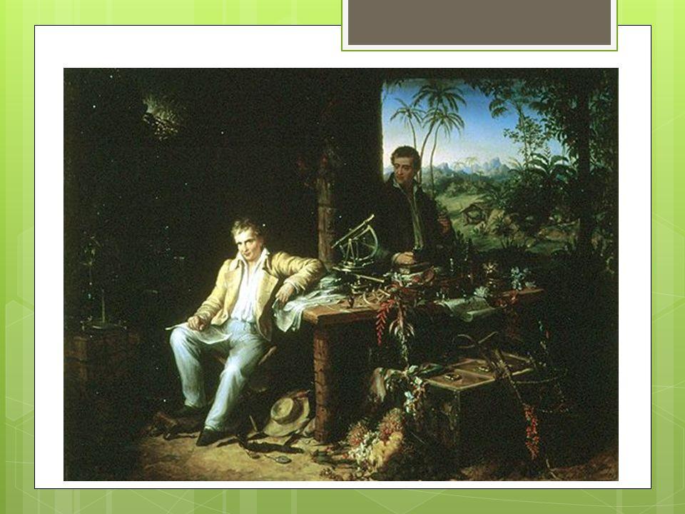 Alexandre de Humboldt Physicien et naturaliste du XVIIIe - XIXe siècle