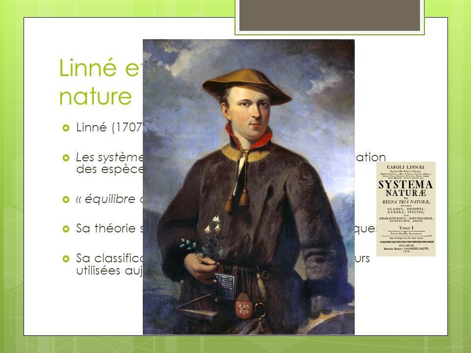 Linné et l'économie de la nature