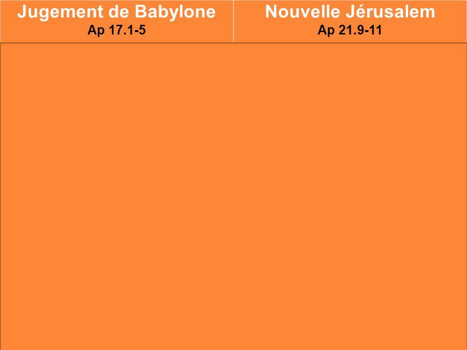 Jugement de Babylone Nouvelle Jérusalem