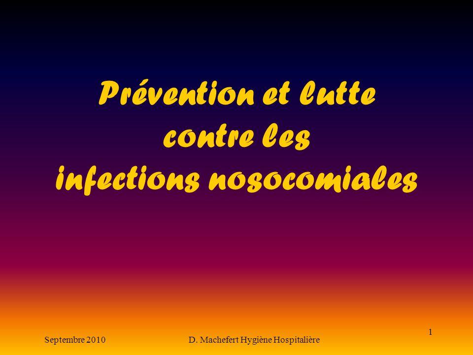 Prévention et lutte contre les infections nosocomiales