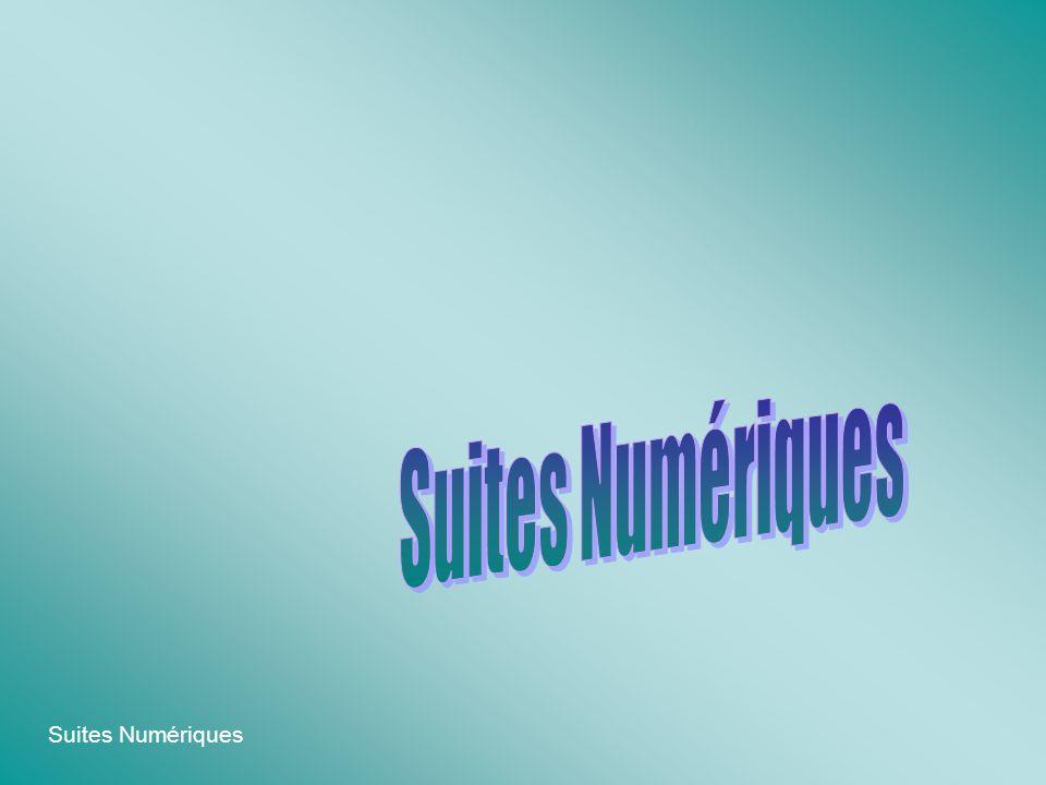 Suites Numériques