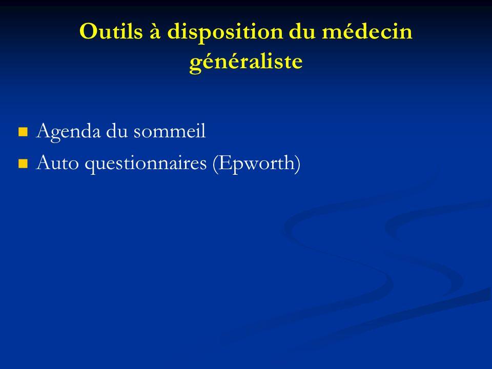 Outils à disposition du médecin généraliste