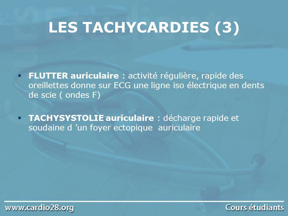 LES TACHYCARDIES (3)