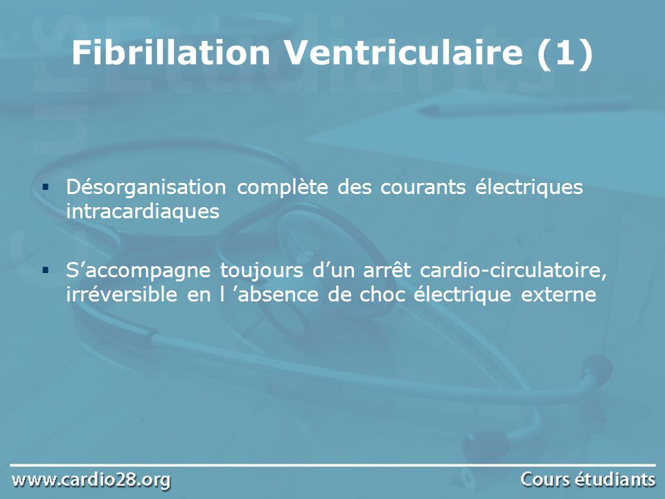 Fibrillation Ventriculaire (1)