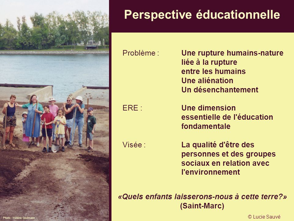 Perspective éducationnelle