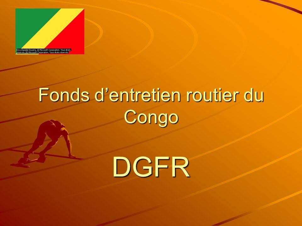 Fonds d'entretien routier du Congo DGFR